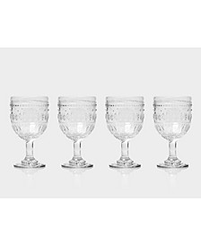Fez Wine Glasses, Set of 4