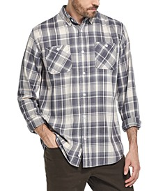 Men's Indigo Blues Plaid Shirt