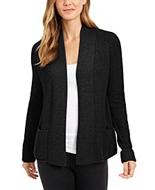 Petite Cotton Cropped Cardigan, Created for Macy's