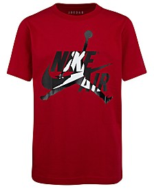 Jordan Big Boys Cotton Jumpman Logo T-Shirt