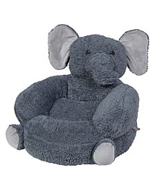 Plush Elephant Character Chair