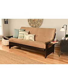 Phoenix Futon in Espresso Finish
