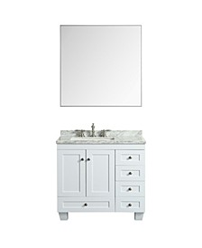 Sax Metal Frame Bathroom Wall Mirror