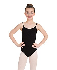 Little Girls Camisole Leotard with Adjustable Straps