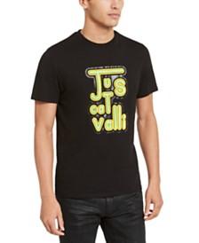 Just Cavalli Men's Vintage Logo Graphic T-Shirt