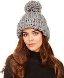 Marcus Adler Chunky-Knit Pom Hat