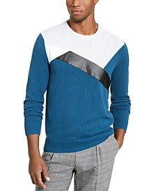 INC Men's Colorblocked Sweater, Created For Macy's