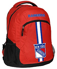 Forever Collectibles New York Rangers Action Backpack