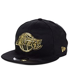 New Era Los Angeles Lakers Stealth Metal 9FIFTY Snapback Cap