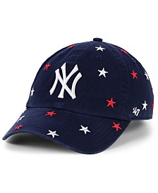 '47 Brand Women's New York Yankees Fourth Of July Confetti Strapback Cap
