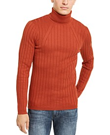 INC Men's Elite Turtleneck Sweater, Created For Macy's