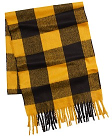 Club Room Men's Buffalo Plaid Scarf, Created For Macy's