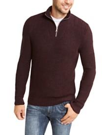 I.N.C. Men's Quarter-Zip Sweater, Created For Macy's