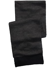 Alfani Men's Reversible Scarf, Created For Macy's