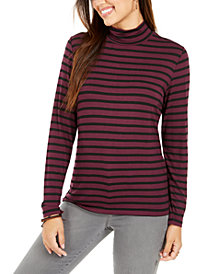 Style & Co. Petite Striped Top, Created for Macy's