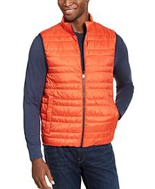 Men's Lightweight Reversible Puffer Vest