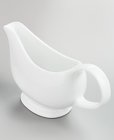 Martha Stewart Collection Whiteware Gravy Boat, Created for Macy's
