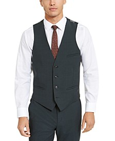 Men's Slim-Fit Active Stretch Solid Suit Vest, Created for Macy's