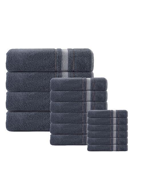 Enchante Home Enchante Home Turkish Cotton 16-Pc. Towel Set