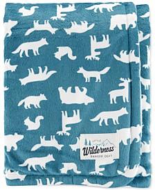 Carter's Baby Boys Wilderness Animal-Print Plush Blanket