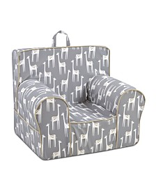 Kangaroo Trading Co. Classic Kid's Grab-N-Go Chair, Patches Storm with Capstone Sand