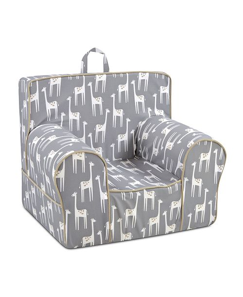 Kangaroo Trading Company Kangaroo Trading Co. Classic Kid's Grab-N-Go Chair, Patches Storm with Capstone Sand