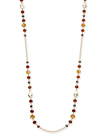"Beaded Strand Necklace, 72"" + 3"" extender, Created For Macy's"
