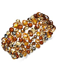 Beaded Coil Bracelet, Created For Macy's
