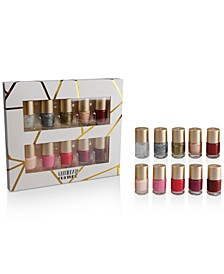 10-Pc. Glitterati Culture Nail Polish Set