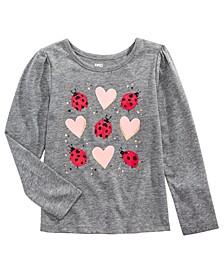 Toddler Girls Ladybug Love T-Shirt, Created for Macy's