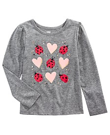 Epic Threads Little Girls Ladybugs T-Shirt, Created for Macy's