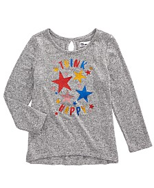 Epic Threads Toddler Girls Happy Thoughts T-Shirt, Created for Macy's