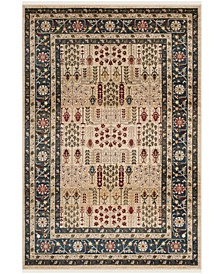 Margaux LRL1297D Beige and Navy 10' X 13' Area Rug