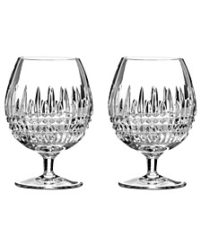 Barware, Lismore Diamond Brandy Glasses, Set of 2