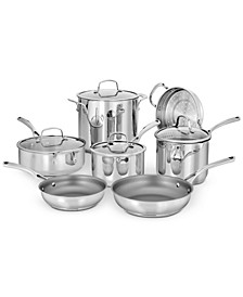 Forever Stainless 11-Pc. Cookware Set