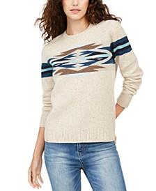 Desert Gem Printed Sweater