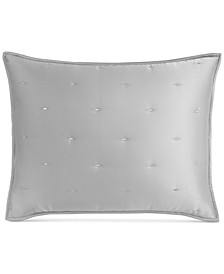 Tufted Satin Standard Sham, Created for Macy's