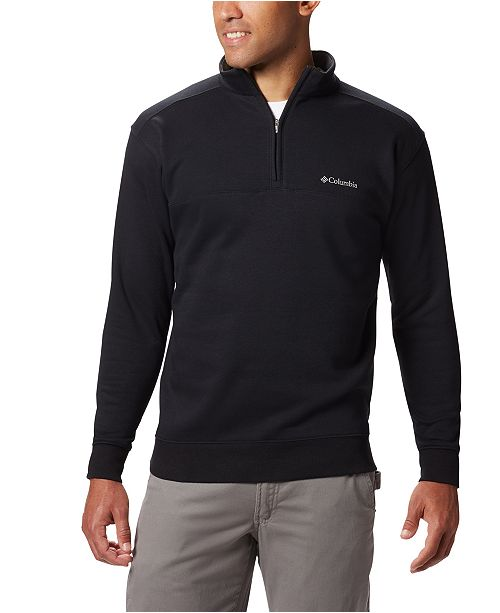 Columbia Men's Hart Mountain II Half-Zip Fleece Sweatshirt