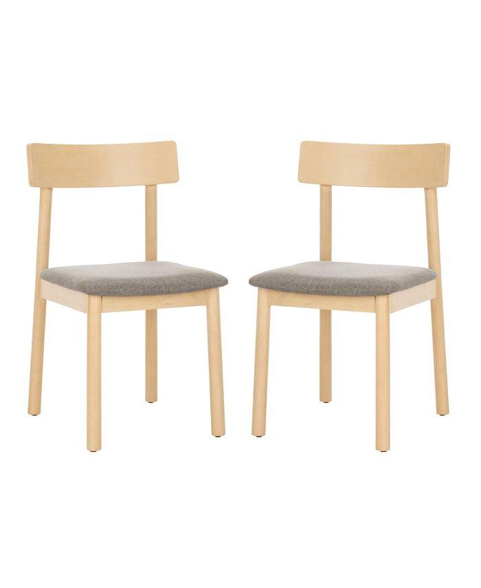 Safavieh - Lizette Retro Dining Chair (Set Of 2), Quick Ship