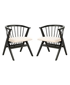 Noah Spindle Dining Chair (Set Of 2), Quick Ship