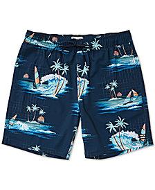 Billabong Big Boys Sundays Layback Printed Swim Trunks