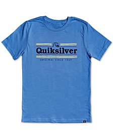 Quiksilver Big Boys Cotton Logo-Print T-Shirt