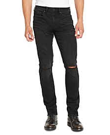 Men's Ash-X Slim-Fit Black Jeans