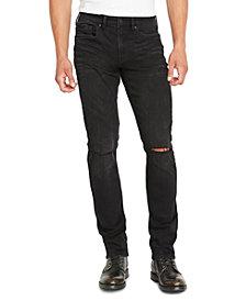Buffalo David Bitton Men's Ash-X Slim-Fit Black Jeans