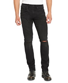 Buffalo David Bitton Men's Ash-X Slim-Fit Black Jeans