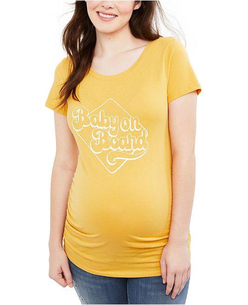 Motherhood Maternity Baby On Board™ Graphic Tee