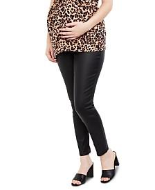 Motherhood Maternity Coated Skinny Jeans