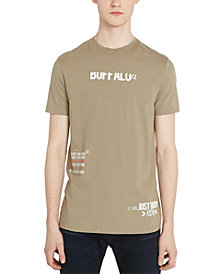 Buffalo David Bitton Men's Tadrive Logo Graphic T-Shirt