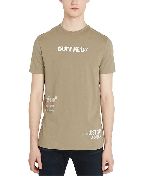 Buffalo David Bitton Men's Tadrive Logo Graphic T-Shirt