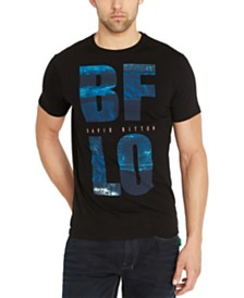 Buffalo David Bitton Men's Tugreen Logo Graphic T-Shirt